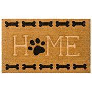 Mohawk® Home ''Home'' Paw & Bone Coir Doormat - 18'' x 30''