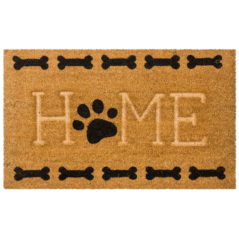 Gentil Mohawk® Home U0027u0027Homeu0027u0027 Paw U0026 Bone Coir Doormat   18u0027