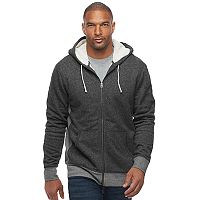 Big & Tall SONOMA Goods for Life™ Regular-Fit Sherpa-Lined Hoodie