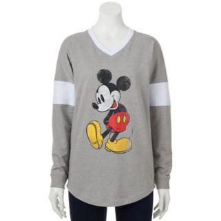 Disney's Mickey Mouse Juniors' Classic Graphic Sweatshirt