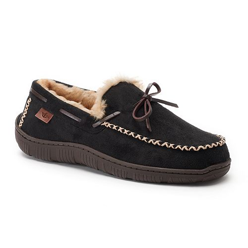 342f5ed187730 Men s Dockers Rugged Boater Moccasin Slippers
