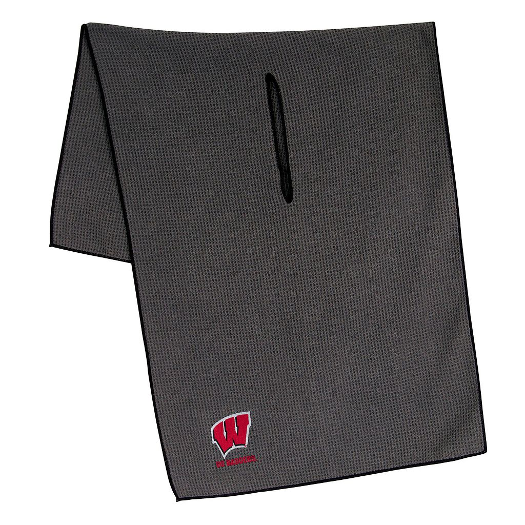 Wisconsin Badgers Microfiber Golf Towel