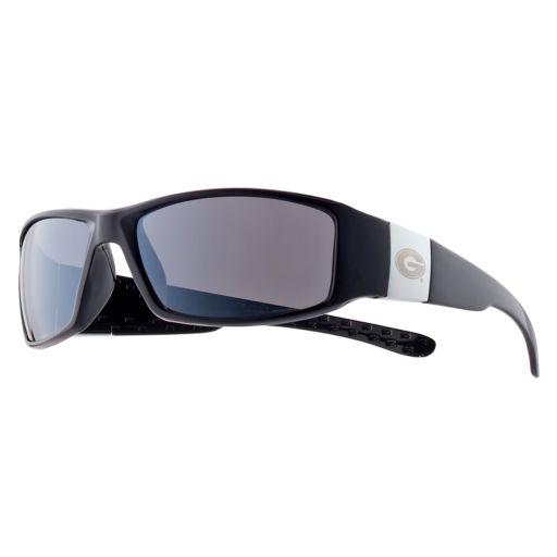 Adult Georgia Bulldogs Chrome Wrap Sunglasses