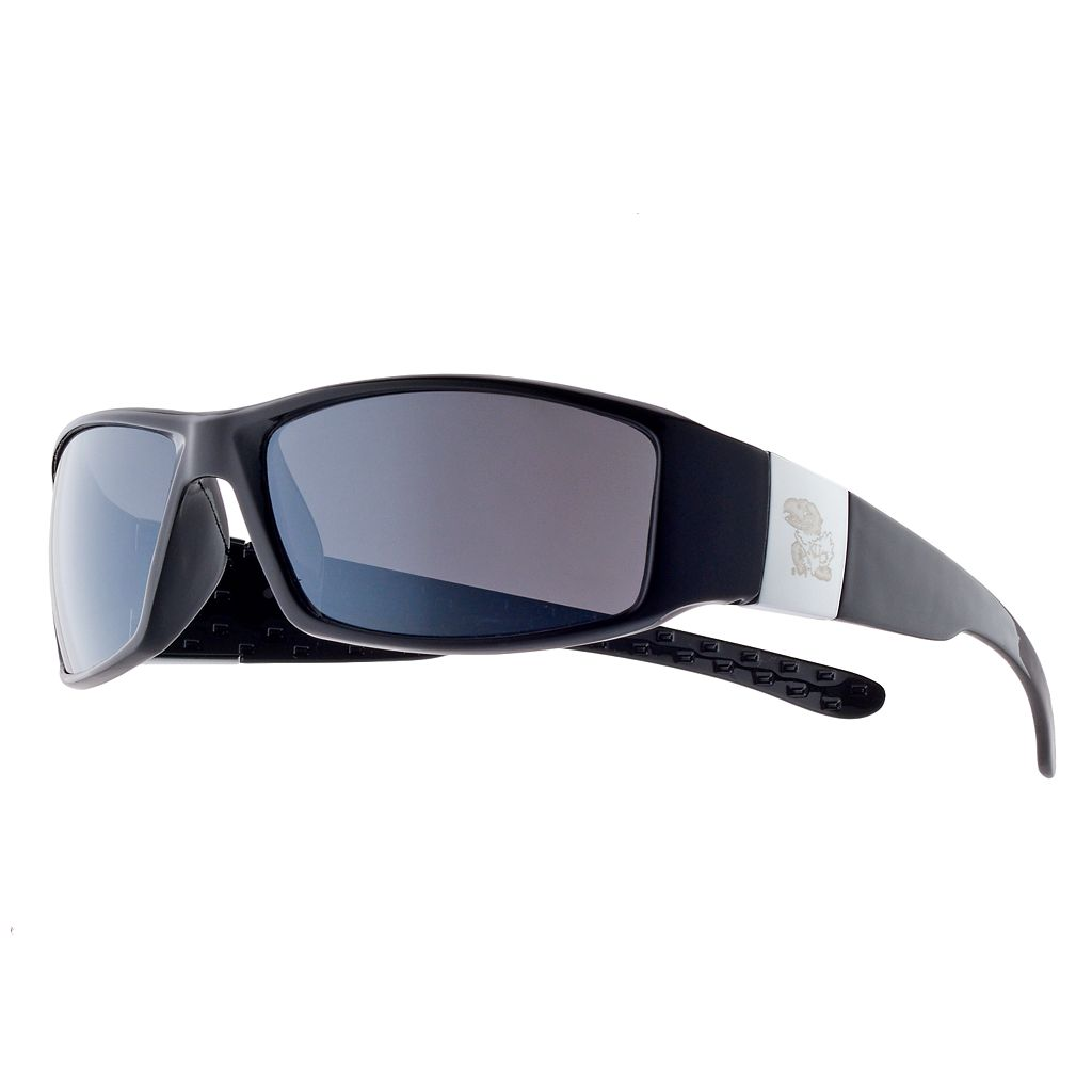 Adult Kansas Jayhawks Chrome Wrap Sunglasses