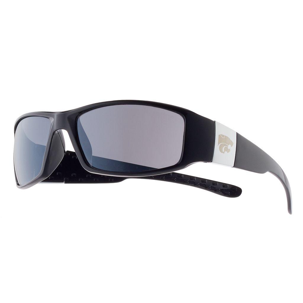 Adult Kansas State Wildcats Chrome Wrap Sunglasses