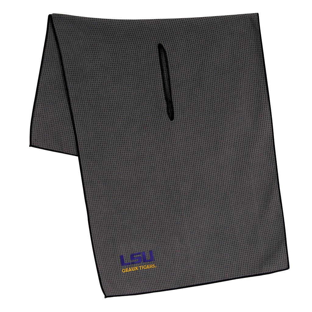 LSU Tigers Microfiber Golf Towel