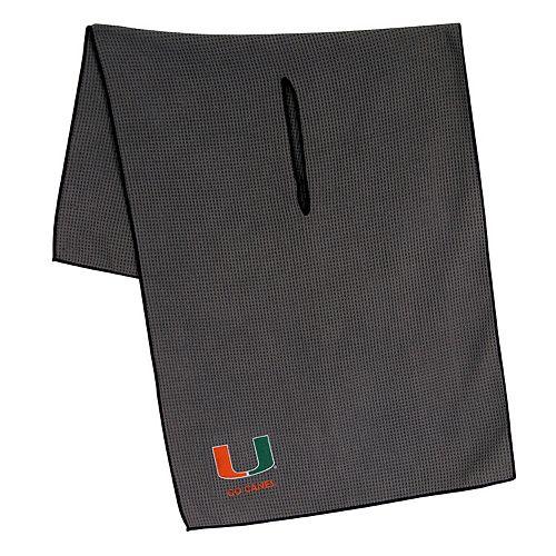 Miami Hurricanes Microfiber Golf Towel