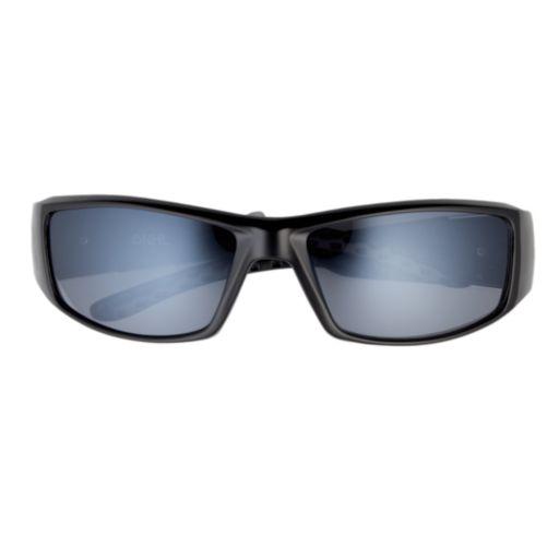 Adult Miami Hurricanes Chrome Wrap Sunglasses