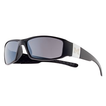 Adult Michigan Wolverines Chrome Wrap Sunglasses