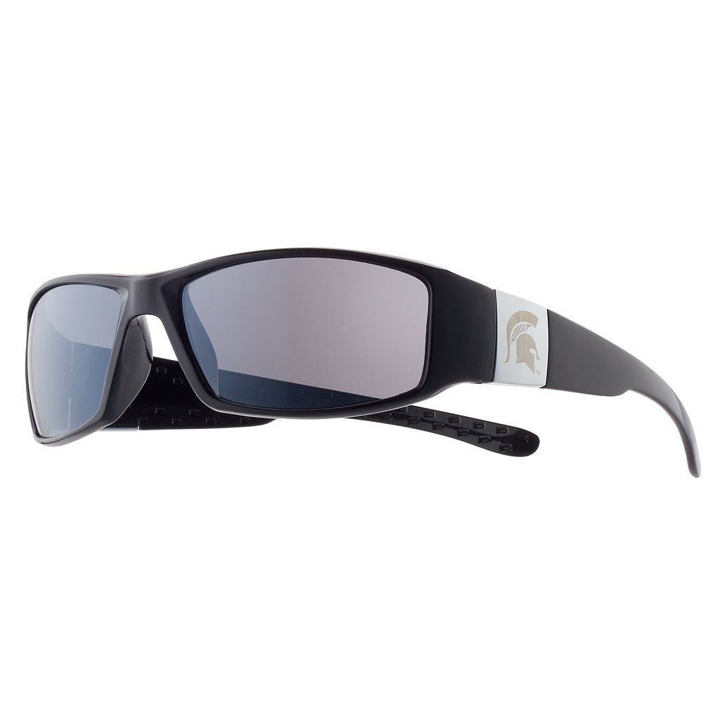 Adult Michigan State Spartans Chrome Wrap Sunglasses