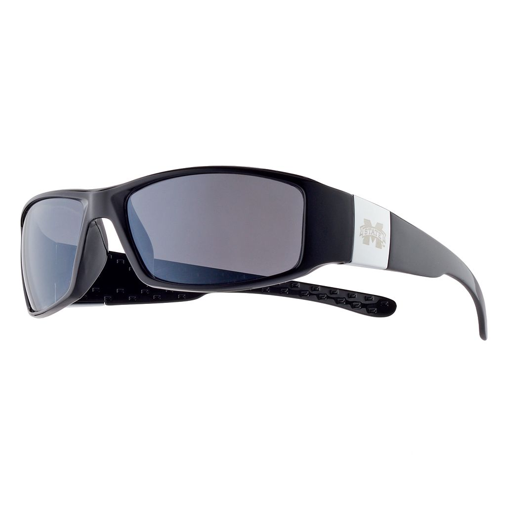 Adult Mississippi State Bulldogs Chrome Wrap Sunglasses
