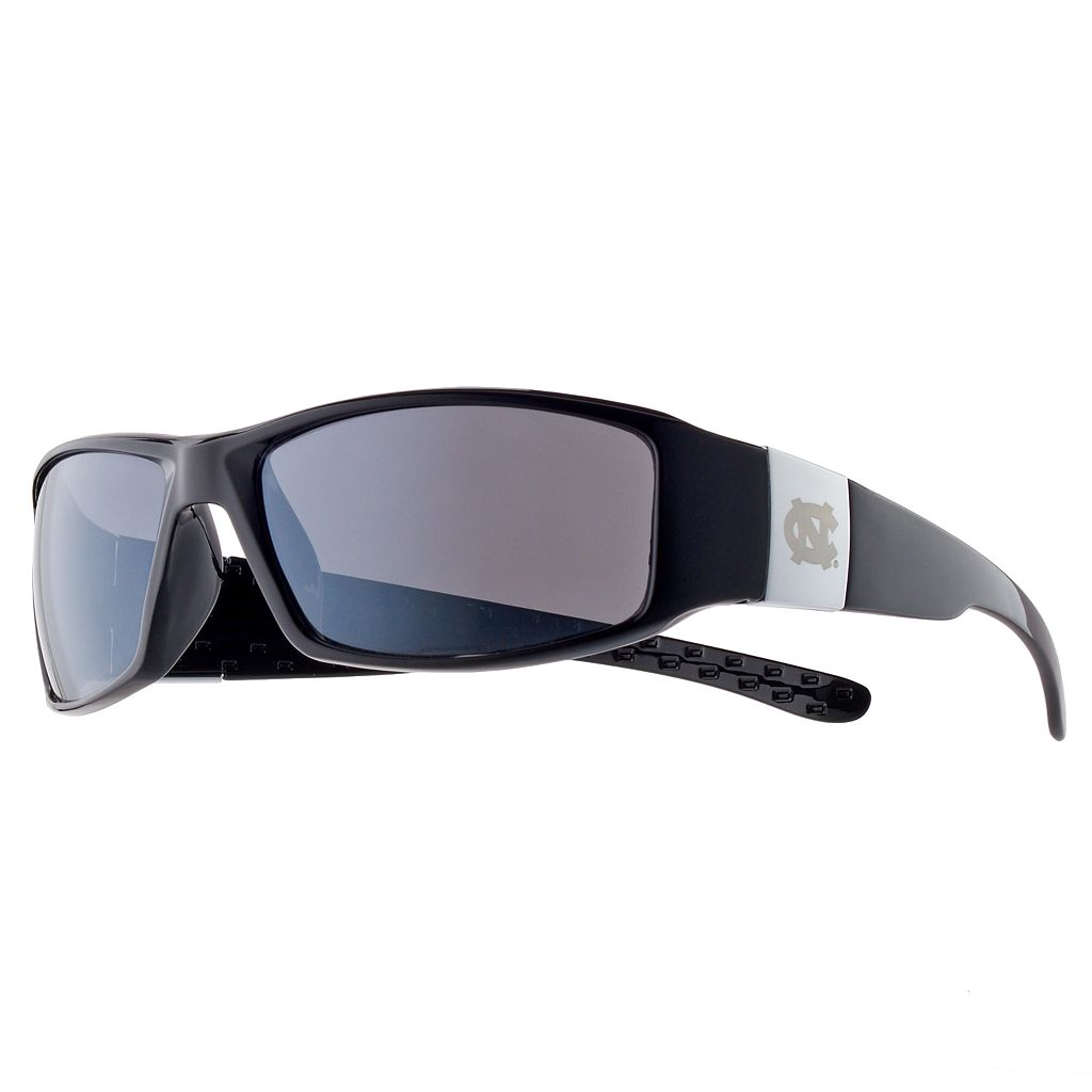 Adult North Carolina Tar Heels Chrome Wrap Sunglasses