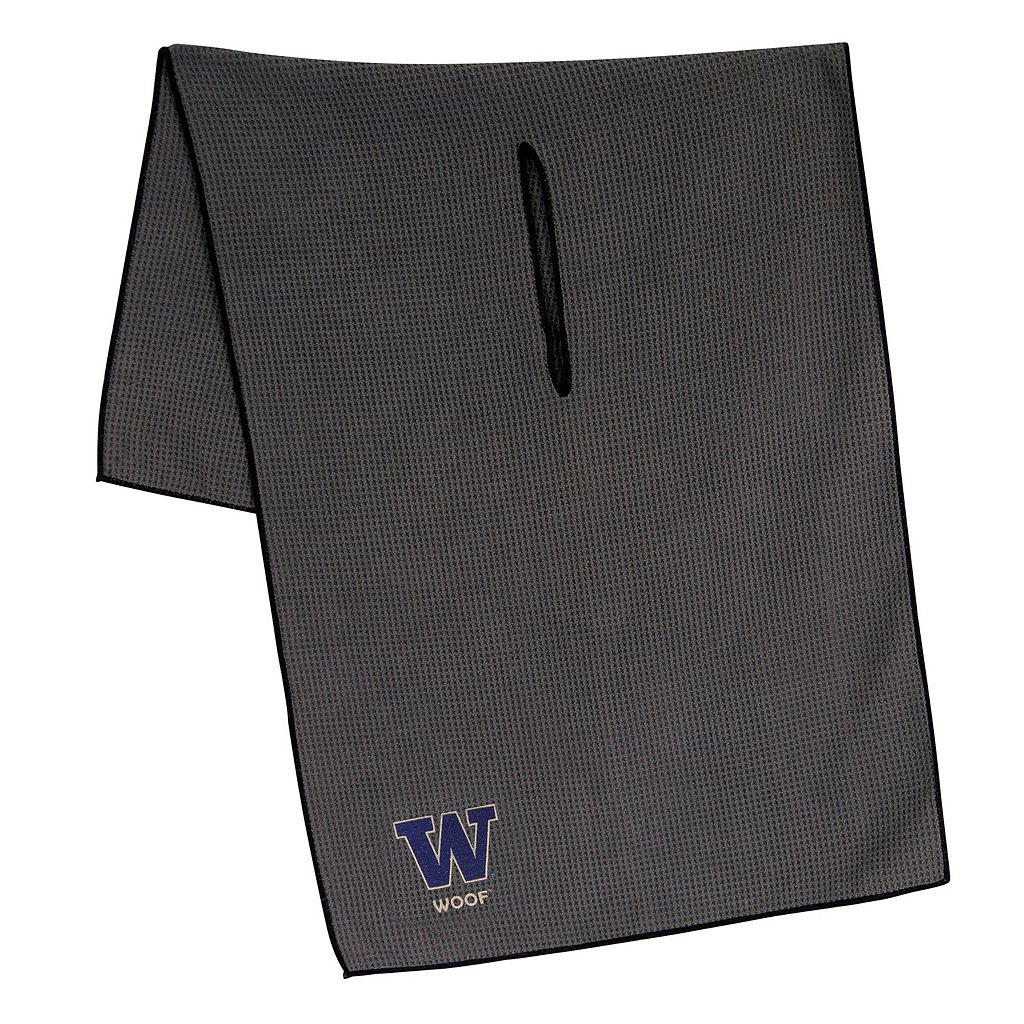 Washington Huskies Microfiber Golf Towel