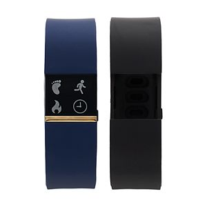 iFITNESS Unisex Fitness Tracker & Interchangeable Band Set – IFT2432BK668-273