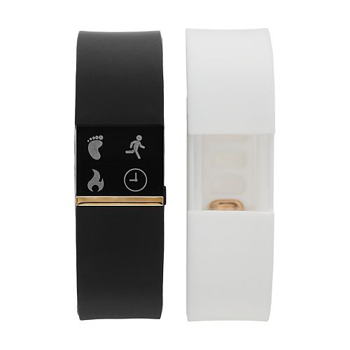 iFITNESS Unisex Fitness Tracker & Interchangeable Band Set - IFT2433BK668-321
