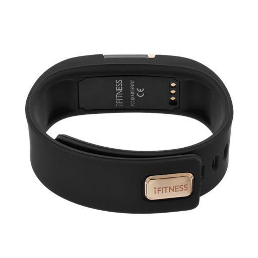 iFITNESS Unisex Fitness Tracker & Interchangeable Band Set - IFT2433BK668-321
