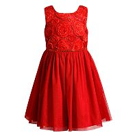 Girls 4-6X Youngland Glitter Dress