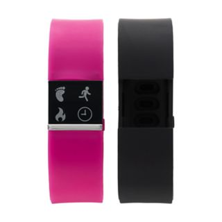 iFITNESS Women's Fitness Tracker & Interchangeable Band Set - IFT2436BK668-338