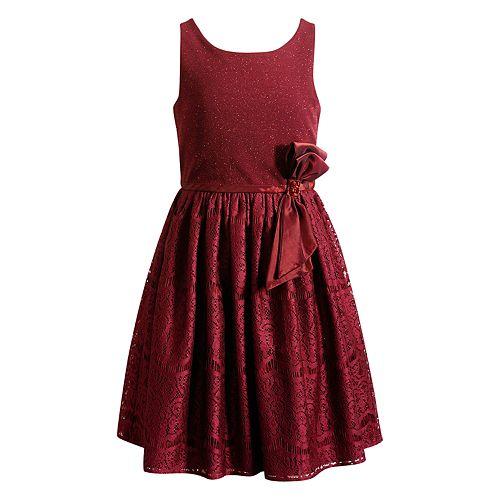 Girls 4-6X Youngland Woven Lace Dress