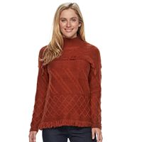 Petite SONOMA Goods for Life™ Cable Knit Mockneck Sweater