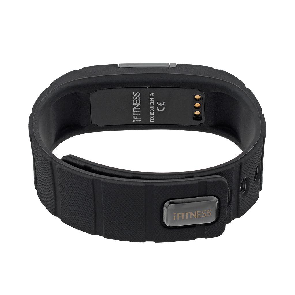 iFITNESS Unisex Fitness Tracker & Interchangeable Band Set - IFT5417BK668-734