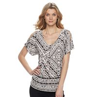 Women's Dana Buchman Cold-Shoulder Top