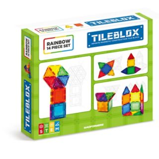 Tileblox Rainbow 14-pc. Set by Magformers