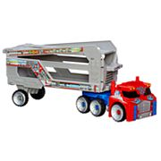 Transformers Rescue Bots Optimus Prime Rescue Trailer by Hasbro