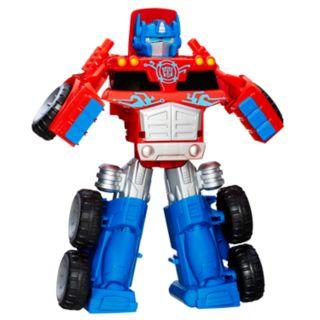 Transformers Rescue Bots Optimus Prime Rescue Trailer by Hasbro