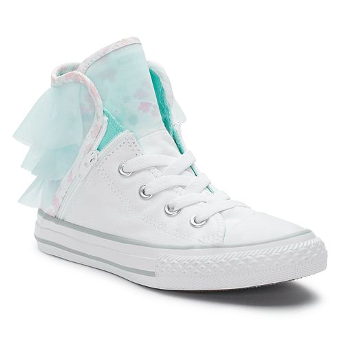 be1f608dfe2d Girls  Converse Chuck Taylor All Star Block Party High Top Sneakers
