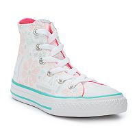 Girls' Converse Chuck Taylor All Star Winter Floral High Top Sneakers
