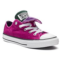 Girls' Converse Chuck Taylor All Star Double Tongue Velvet Sneakers