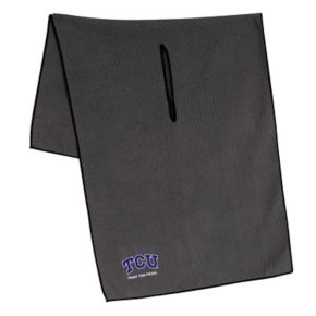 TCU Horned Frogs Microfiber Golf Towel