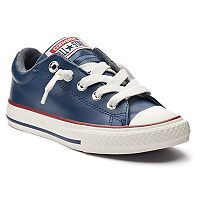 Kid's Converse Chuck Taylor All Star Street Slip Leather Sneakers