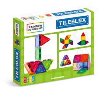 Tileblox Rainbow 20-pc. Set by Magformers