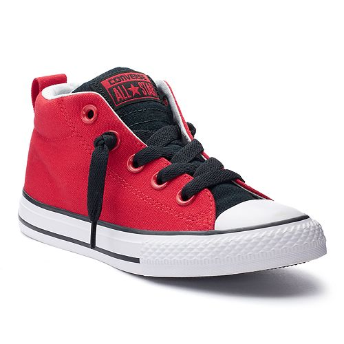 01a0305d983b4 Boys' Converse Chuck Taylor All Star Street Mid Two-Tone Sneakers
