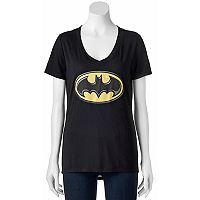 Juniors' DC Comics Batman Classic Logo Graphic Tee