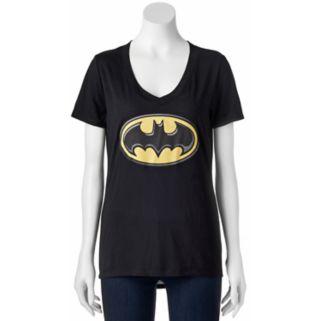Juniors' DC Comics Batman Classic Logo Graphic Tee