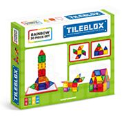 Tileblox Rainbow 30 pc Magnetic Activity Board Set by Magformers