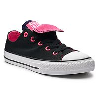 Girls' Converse Chuck Taylor All Star Double Tongue Accent Sneakers