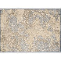 United Weavers Dais Faded Gracelight Framed Medallion Rug