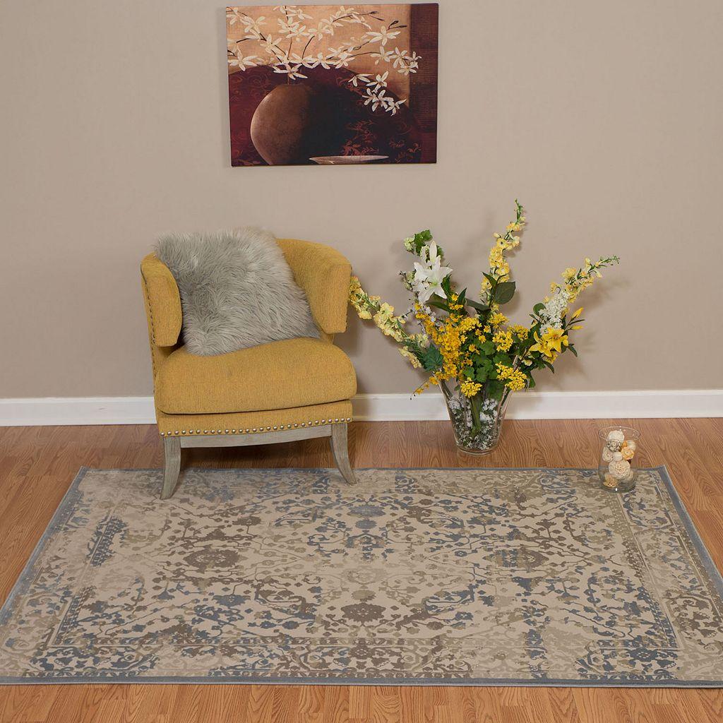 United Weavers Dais Nirvana Framed Floral Rug