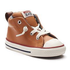 Toddler Converse Chuck Taylor All Star Street Mid Leather Sneakers