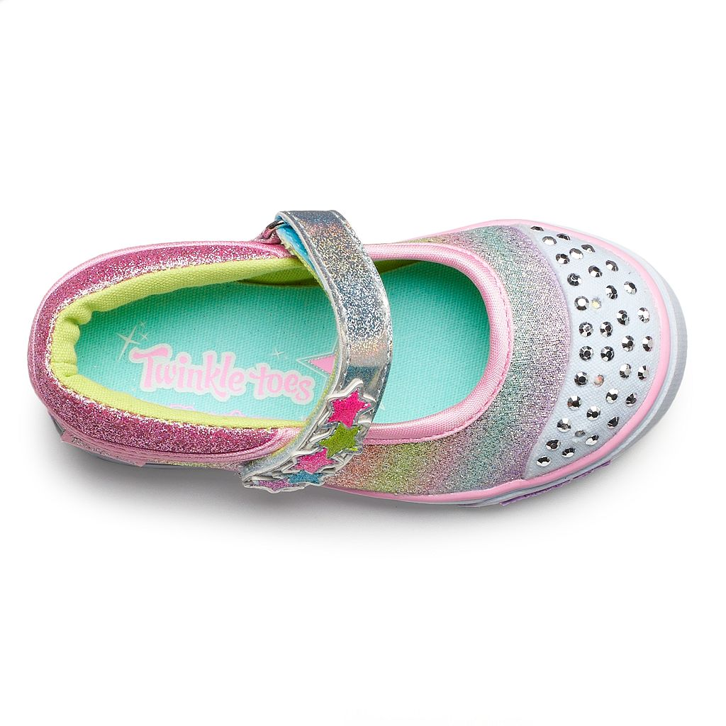 Skechers Twinkle Toes Sparkle Glitz Toddler Girls' Light-Up Shoes