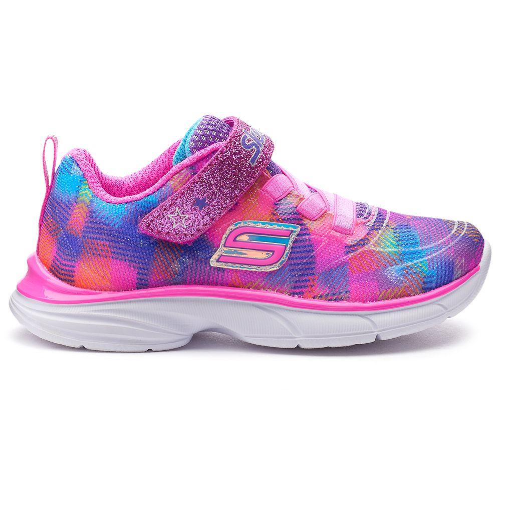 Skechers Spirit Sprintz Rainbow Raz Toddler Girls' Sneakers