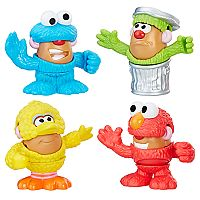 Mr. Potato Head Sesame Street Spuds Mini Container by Play-Doh