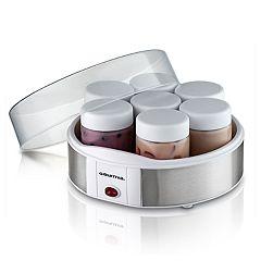 Gourmia Yogurt Maker & 7 pc Glass Jar Set