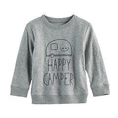 Baby Boy Jumping Beans® 'Happy Camper' Top
