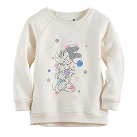 Disney's Minnie Mouse Toddler Girl Glittery Graphic Pullover by Jumping Beans®