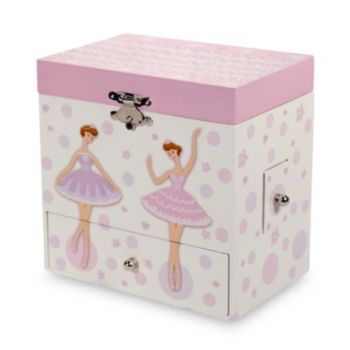 Mele & Co. Lindy Musical Ballerina Jewelry Box